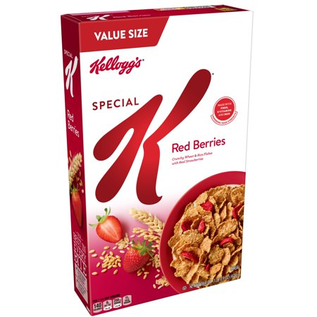 Kellogg's Special K Red Berries Breakfast Cereal Value Size 16.9