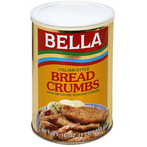 Bella Italian Style Bread Crumbs, 16 0z (Pack of 12)