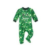 The Children's Place Baby Toddler Boy Blanket Sleeper Pajamas