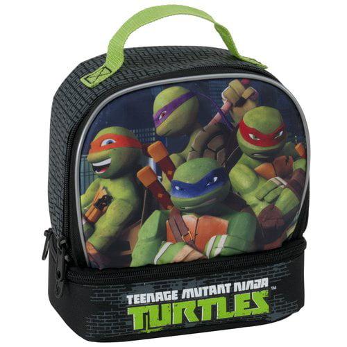 Teenage Mutant Ninja Turtles The Turtle Are Watching Lunch Tote, Black