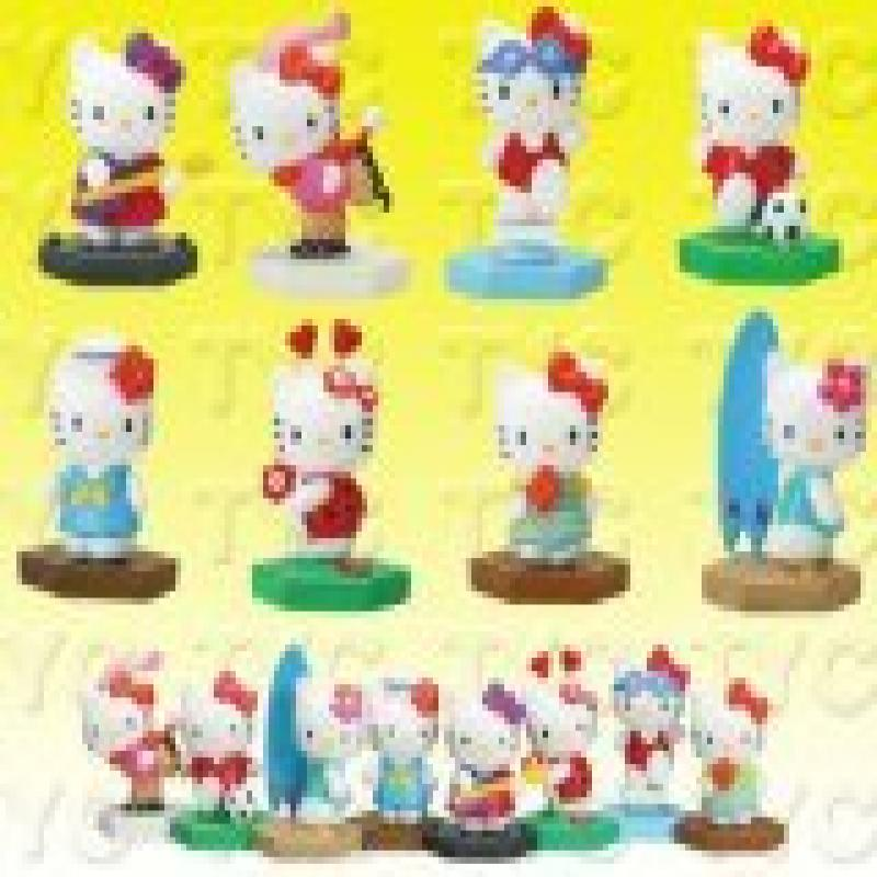 """Hello Kitty Figure Series 1 1"""" Figure Collection Set (8 Set) by"""