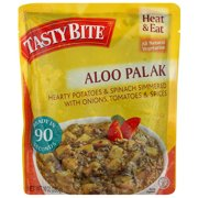 Tasty Bite Aloo Palak Entree, 10 oz, (Pack of 6)