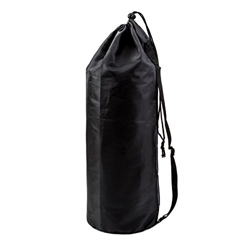 Nylon Sports Gymsack Bag, Perfect for Carrying Case for Clothes, Gym Equipment by