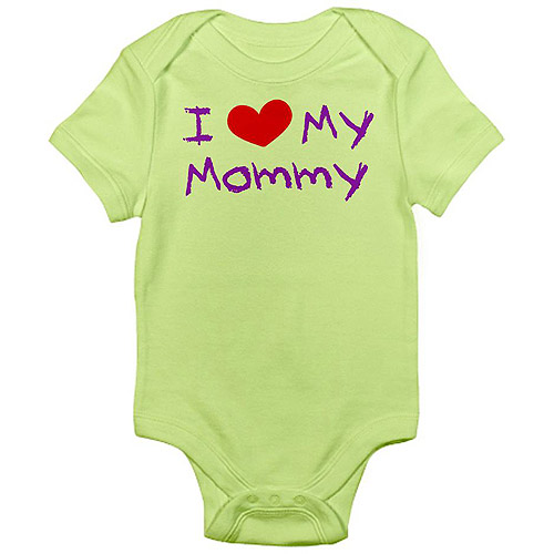 CafePress Baby I Love My Mommy Infant Bodysuit