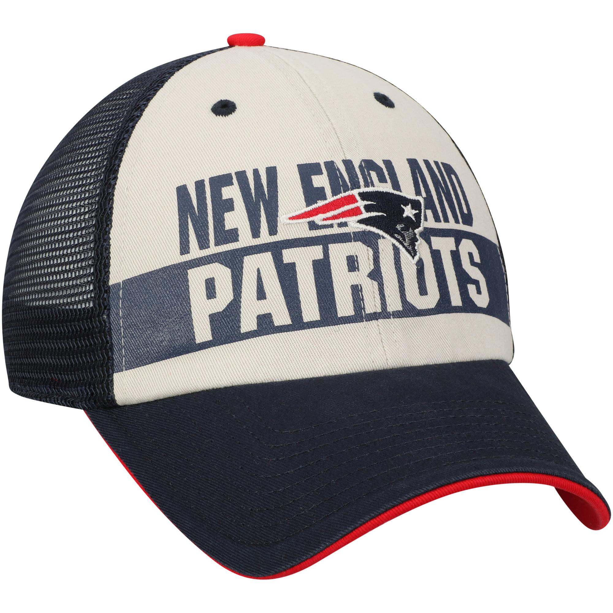 39958c390 Men s Fan Favorite Navy New England Patriots Glover Snapback Hat - OSFA -  Walmart.com