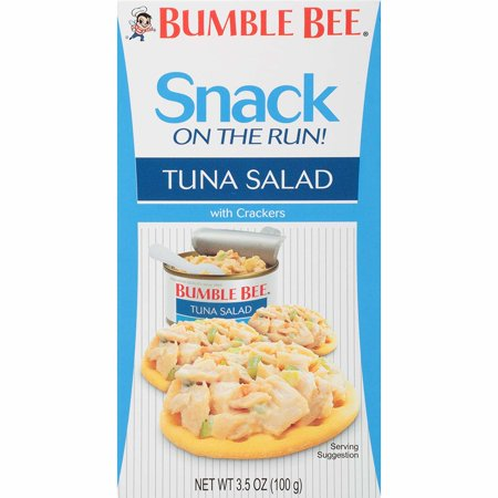 Spectrum Salad - Bumble Bee Snack On The Run! Tuna Salad with Crackers, 3.5 oz Kit