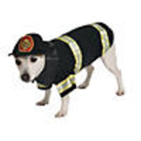 Firefighter Dog Costume - Medium