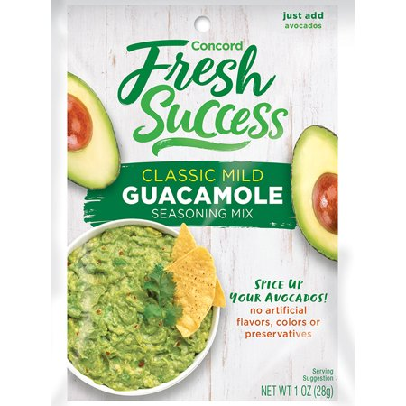 Pack of 3 - Concord Foods Classic Guacamole Mix, 1 (Concord Mills Com)