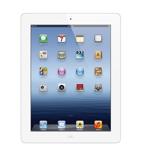 Apple 16GB iPad 4th Gen with Retina Display Wi-Fi (White) - MD513LL/A
