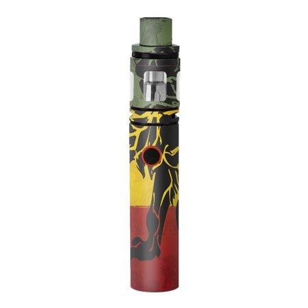 Skins Decals For Smok Stick V8 Pen Vape / Rasta Lion