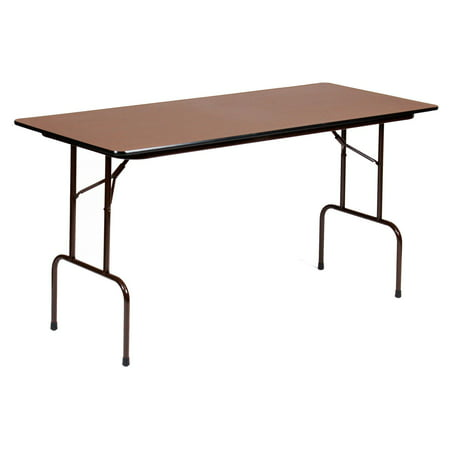 Correll 72 in. Rectangle Counter Height Folding Table