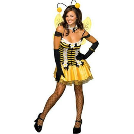b07322dd790 Women s Adult Honey Bee Classic Bumblebee Costume - Walmart.com