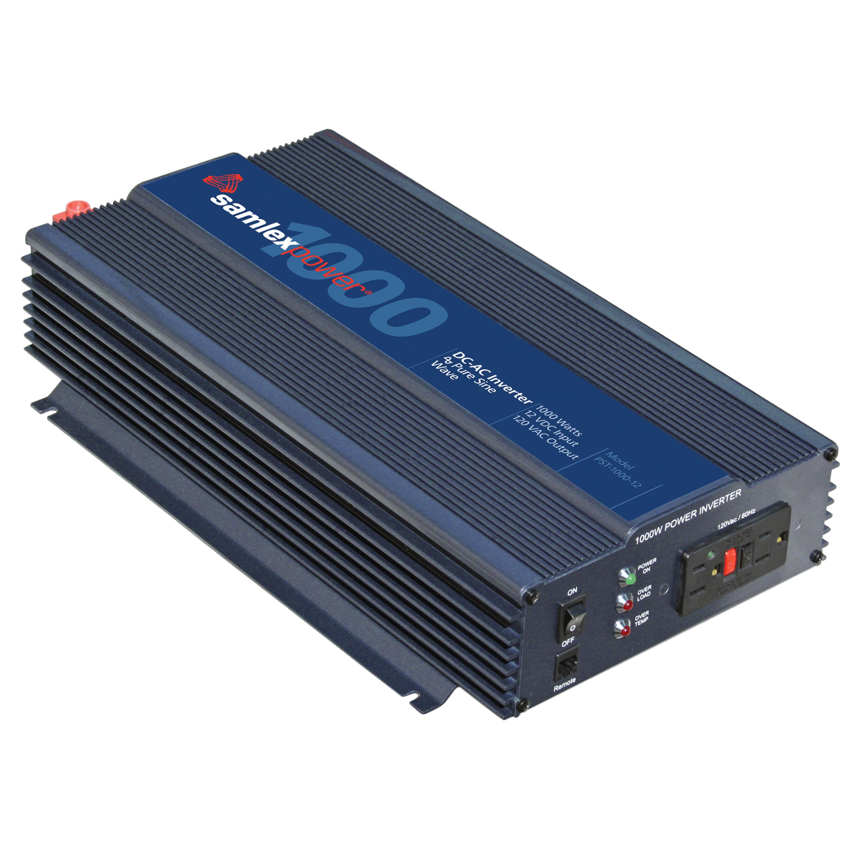 Samlex America PST-1000-12 PST Series Pure Sine Wave Inverter - 1000 Watt