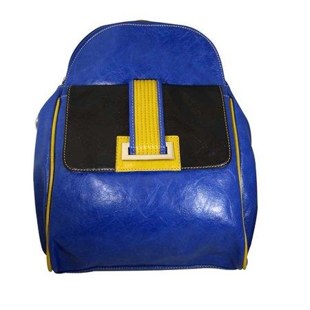 Aryana Junior Womens Blue Front Pocket Top Zipper Bita Backpack