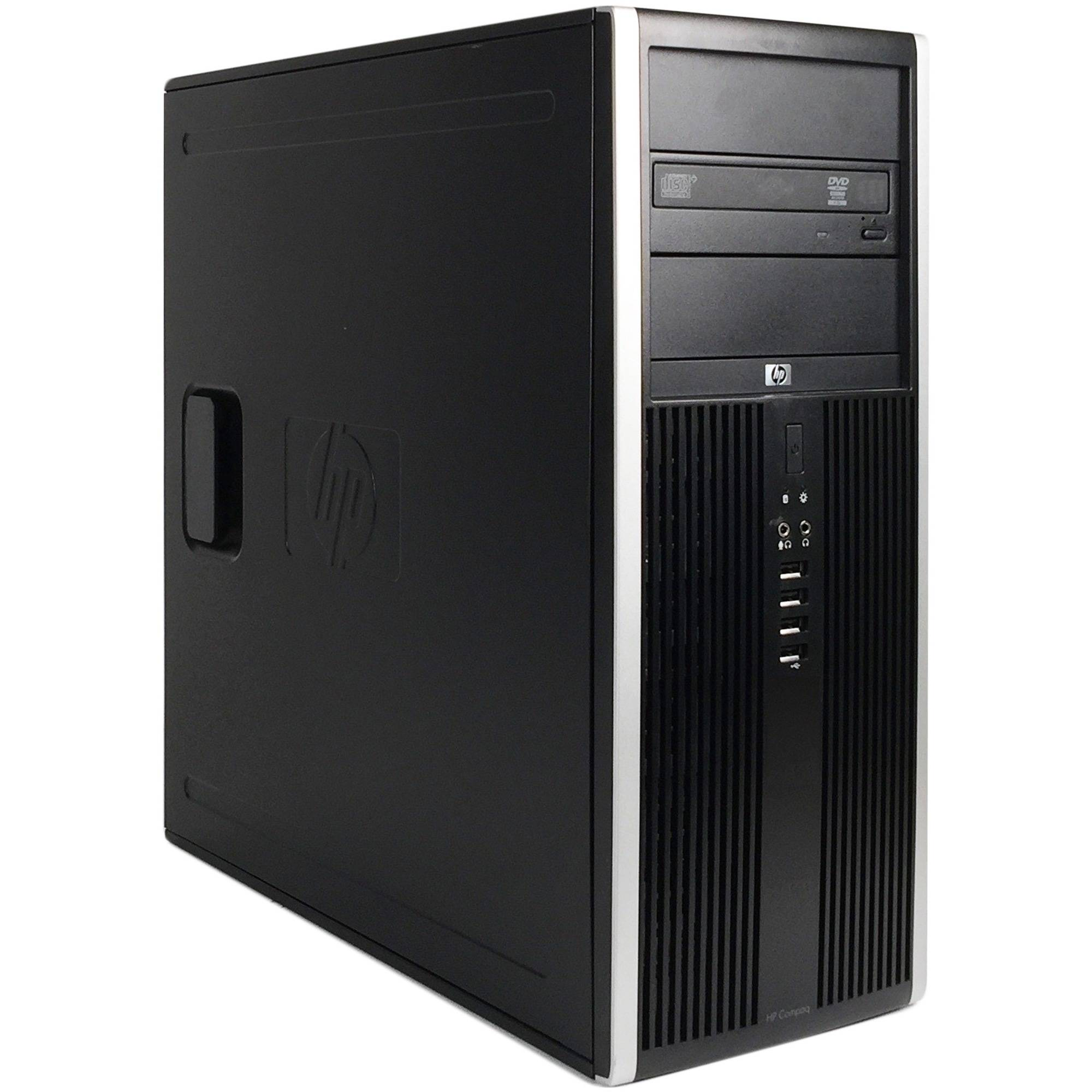 Refurbished HP 6200 Pro Tower Desktop PC with Intel Core i5-2400 Processor, 16GB Memory, 2TB Hard Drive and Windows 10 Professional (Monitor Not Included)