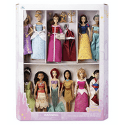 Disney Princess 11 Classic Doll Collection Gift Set New with Box