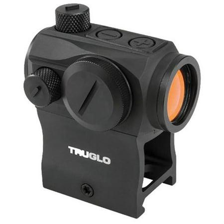 - TruGlo Tru-Tec 20mm Red Dot Sight 2 MOA Interchangeable Mounts - TG8120BN