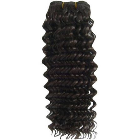 Hair 911 16  Indian Curly Black Hair Extension  4 Oz