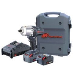 Cordless Impact Wrench,(2) Batteries INGERSOLL RAND