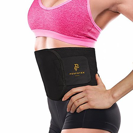 Exercise Waist Trimmer Belt Wrap Stomach Slimming Fat Burn Weight Loss (The Best Stomach Exercises To Burn Fat)