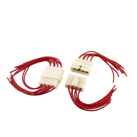 Surprising 2 Pcs Car Auto Radio Stereo Wiring Harness 8 Pin Wire Adapter Wiring Database Liteviha4X4Andersnl