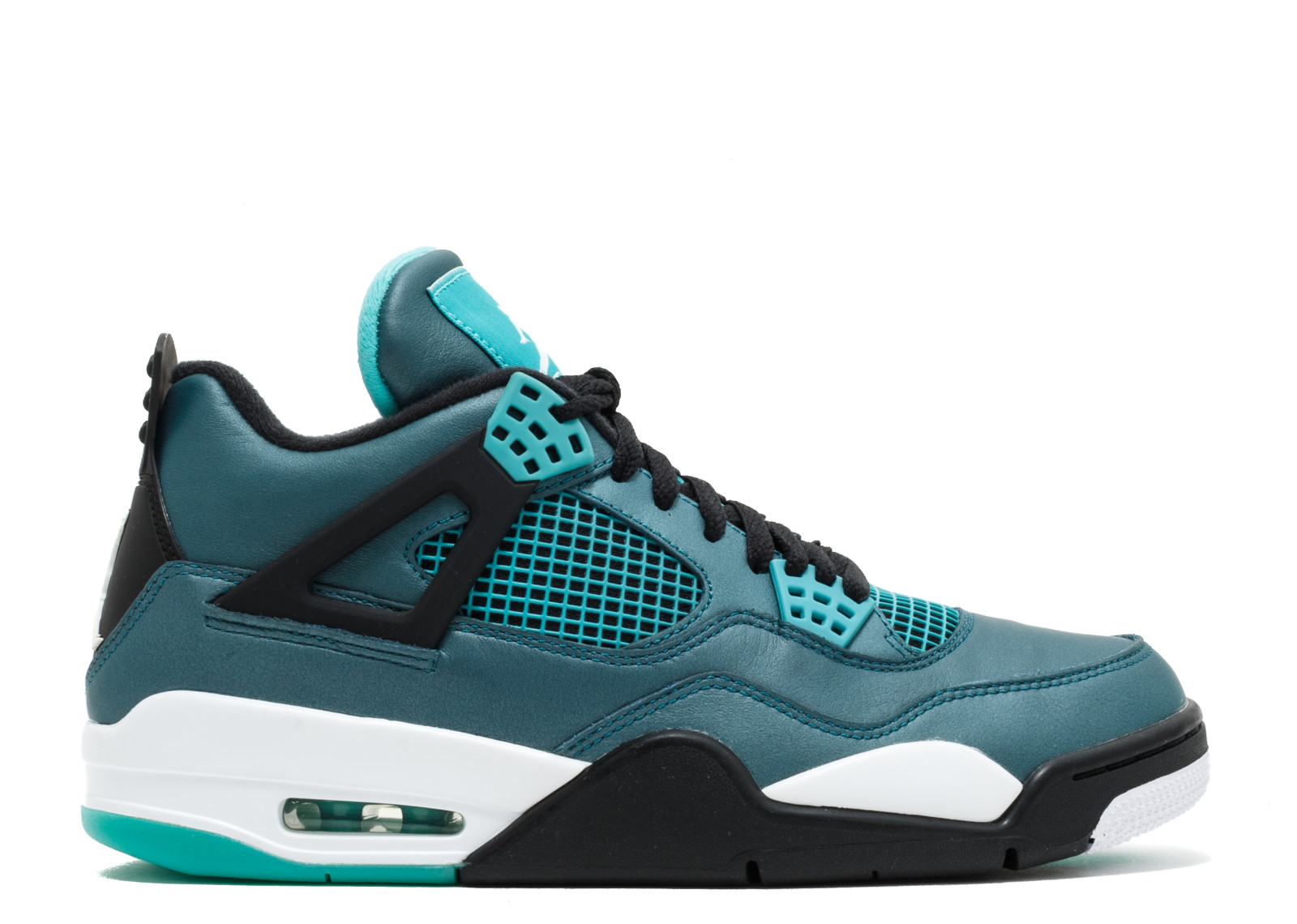 "Nike Mens Air ""Teal"" Jordan 4 Retro 30th ""Teal"" Air Teal/White-Black 705331-330 864634"
