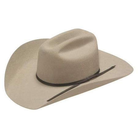 789ea8bd0711bc Twister T7234006-M Kids 2 Cord Dark Grey Band Cowboy Hat - Medium - image  ...