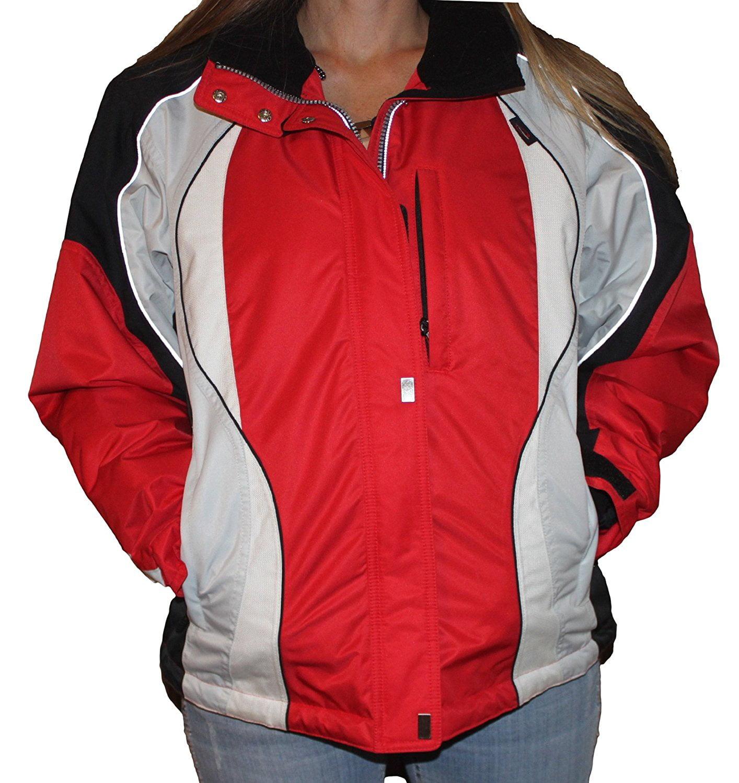 Obermeyer Paris Jacket Ladies Red / black / white 2