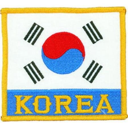 Korean Flag Deluxe Patch b2145
