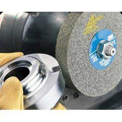Arbor Attachment PRICE is per WHEEL 3M Scotch-Brite XL-WL Convolute Silicon Carbide Hard Deburring Wheel 05790 Fine Grade 6 in Dia 1 in Center Hole Thickness 1//2 in 6000 Max RPM