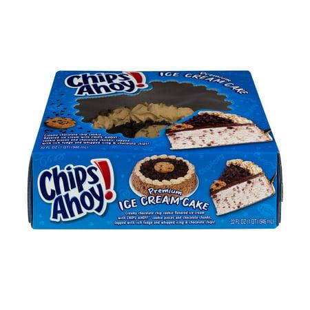Chips Ahoy Ice Cream Cake