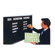 Aarco Products BOFD3630 36 in. H Framed Letter Board Message Centers Aluminum Frame