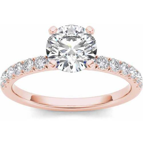 Imperial 3 4 Carat T.W. Diamond Classic 14kt Rose Gold Engagement Ring by Imperial Jewels