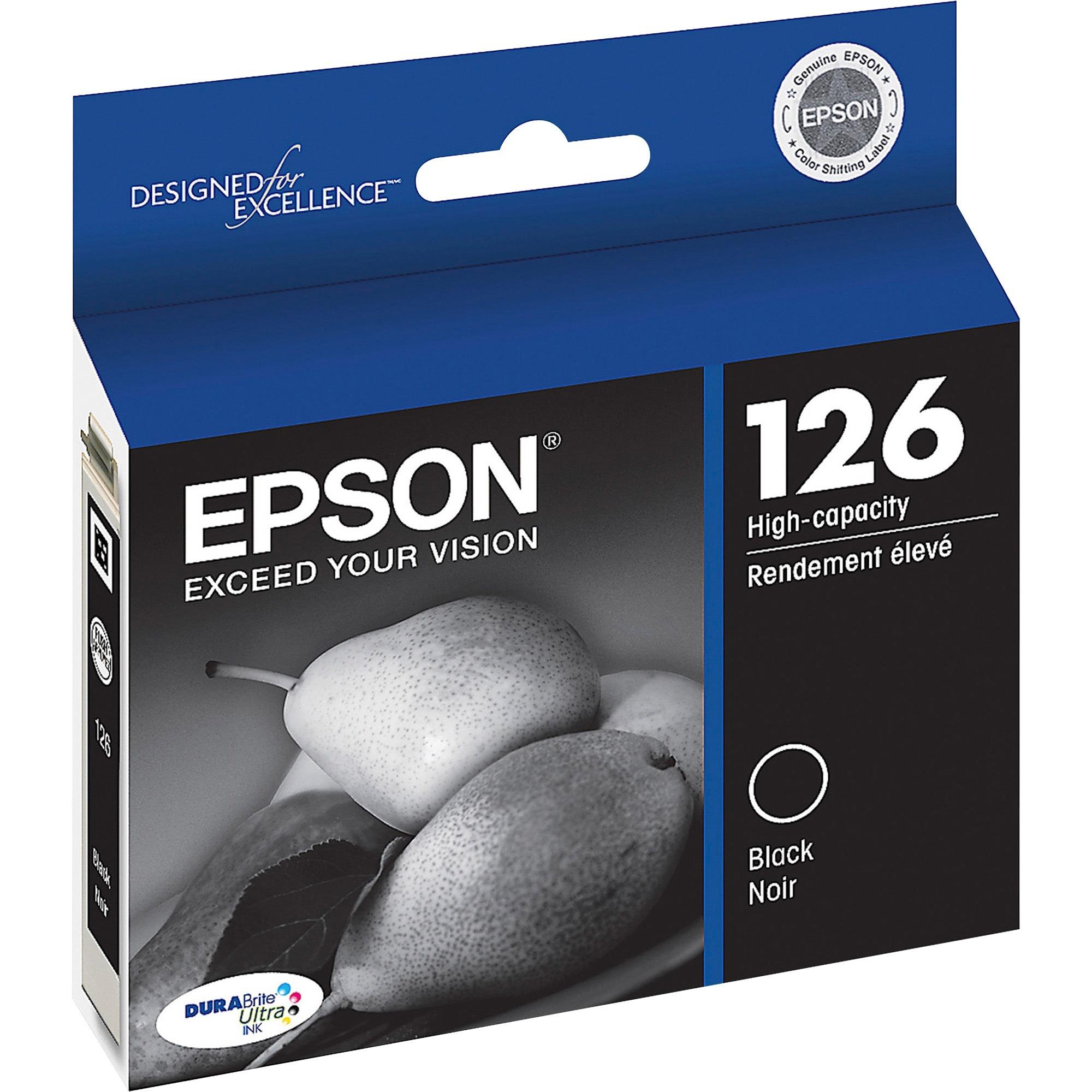 Epson 126 Standard-capacity Black Ink Cartridge