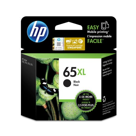 HP 65XL | Ink Cartridge | Black | ~300 pages | N9K04AN 3 Ink Photo Black Cartridge
