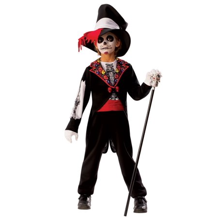 Day of the Dead Boys Costume (Day Of The Dead Costume Kids)