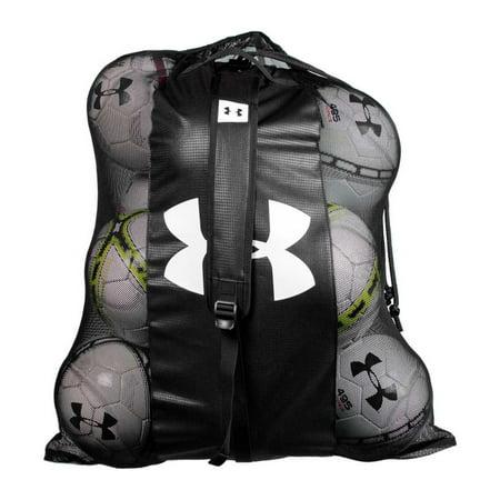 - Under Armour Hauler Mesh Ball Bag, Soccer, Football, Basketball UASB-MBB
