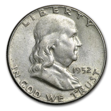 1952 Franklin Half Dollar AU (Franklin Half Dollar Mintmark)