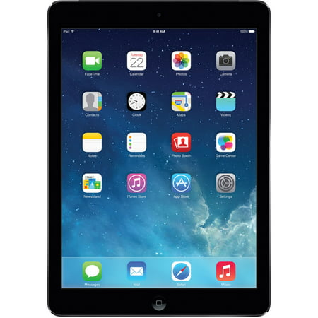 "Apple iPad Air 1st Gen 9.7"" Tablet (128GB, Wi-Fi + AT&T 4G LTE, Space Gray) (Non Retail Packaging)"
