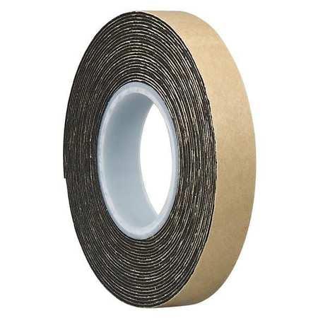 """3M 4492 3M 4492B Double Coated Foam Tape 2"""" x 5yd, Black"""