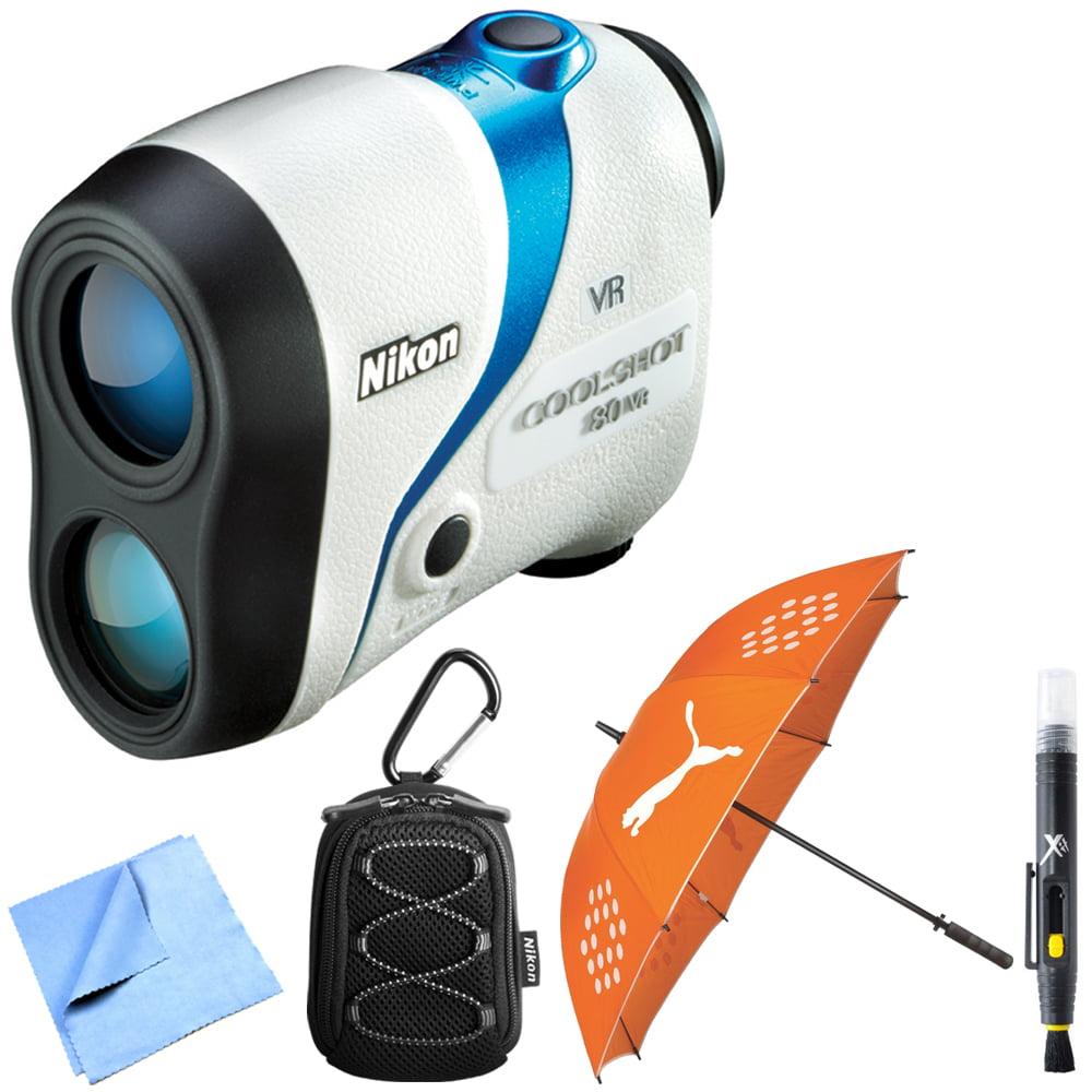 Nikon 16206) COOLSHOT 80 VR Golf Laser Rangefinder Bundle...