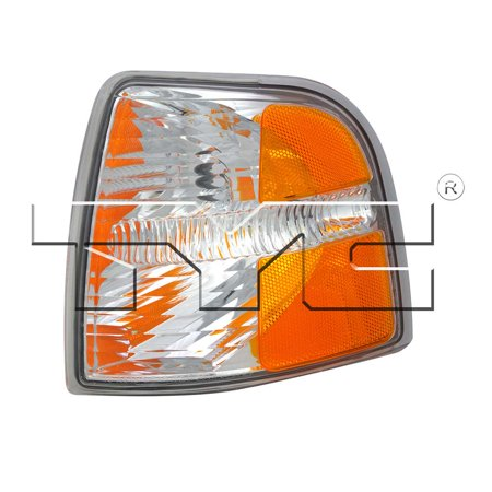 CarLights360: Fits 2002 2003 2004 Ford Explorer Turn Signal / Parking Light Assembly Driver Side (Left) DOT Certified  - Replacement for FO2520167 (Vehicle Trim: To 12/2003) (2003 Explorer Turn Signal)