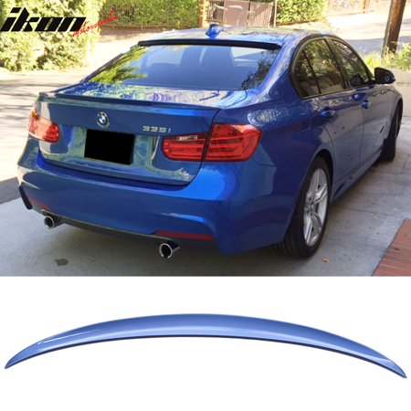 Fits 12-18 BMW 3 Series F30 Trunk Spoiler OEM