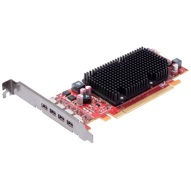 AMD FirePro 2460 512MB GDDR5 PCIe 2.0 x16 Full-Length/Full-Height Graphic Card