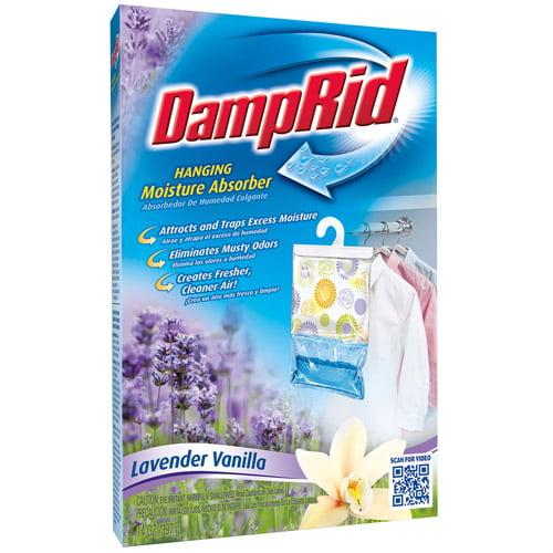 DampRid Hanging Lavender Vanilla Moisture Absorber, 14 oz.