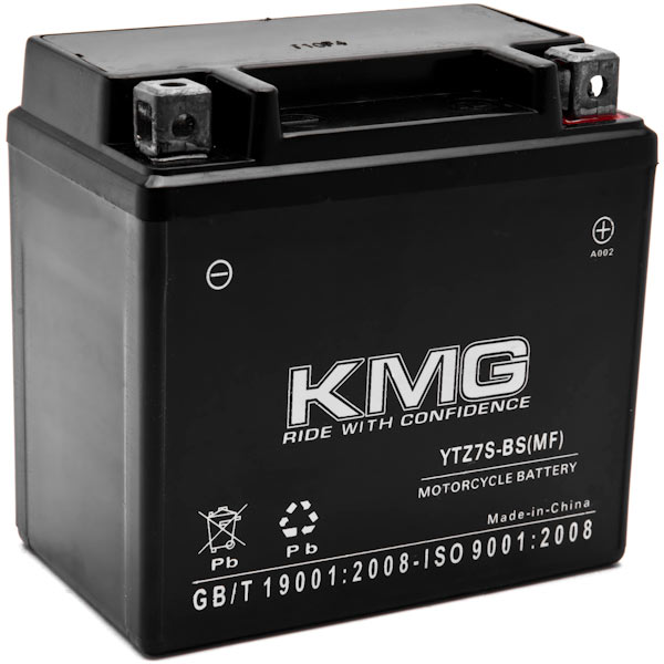 KMG® YTZ7S Battery For Kymco 50 Mongoose 50 0-2011 Sealed Maintenace Free 12V Battery High Performance SMF OEM Replacement Maintenance Free Powersport Motorcycle ATV Scooter Snowmobile Watercraft KMG