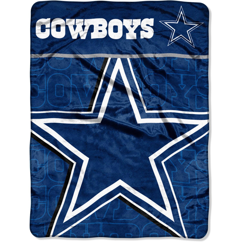 "NFL Dallas Cowboys 46"" x 60"" Micro Raschel Throw by The Northwest Company"