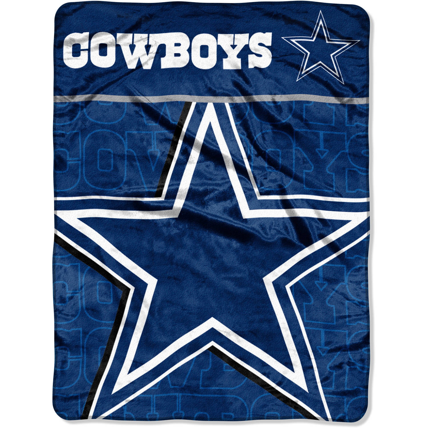 "NFL Dallas Cowboys 46"" x 60"" Micro Raschel Throw"