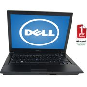 "Refurbished Dell 14.1"" E6410 Laptop PC with Intel Core i5-520M Processor, 6GB Memory, 128GB Solid State Drive and Windows 10 Home"
