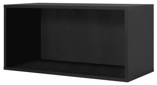 327706 Modular Large Open Cube Storage System, Black By Foremost